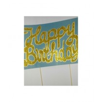 SM Products Happy Birthday Cake Prop
