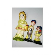 SM Products Stylish Doll Set of 3