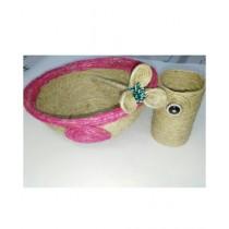SM Products Stylish Jute Antique Decorative Set