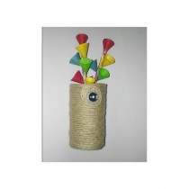 SM Products Stylish Jute Decorative Stand Pack of 3