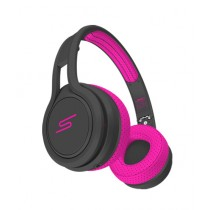 SMS Audio Wired Sport On-Ear Headphone Pink