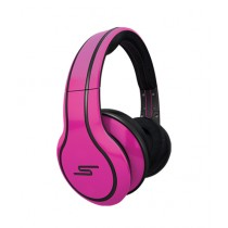 SMS Audio Wired Over-Ear Headphone Magenta