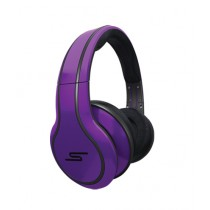 SMS Audio Wired Over-Ear Headphone Purple