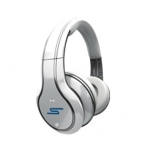 SMS Audio Wireless Over-Ear Headphone White