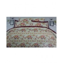 SN King Size Double Bed Sheet With Set (0006)
