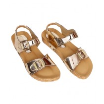SNF Shoes Cushioned Sandals For Women Golden (369)