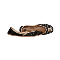 SNF Shoes Embroidered Khussa For Women Black (2117)