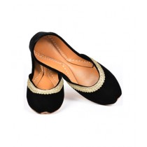 SNF Shoes Khussa For Women Black (202)