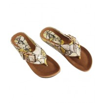 SNF Shoes Rexine Flats For Women Brown (380)