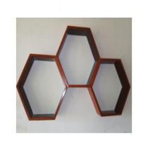 SNM Honeycomb Wall Shelf