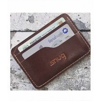 Snug Carter Leather Wallet For Men Brown