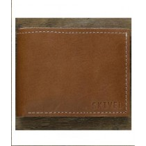 Snug Sharp Edge Tanned Leather Wallet For Men Canary