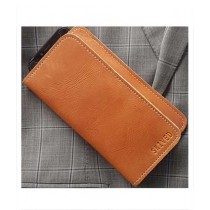 Snug Tanned Leather Wallet/Card Holder For Men Canary