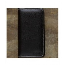 Snug Tanned Leather Wallet/Card Holder For Men Olive Black