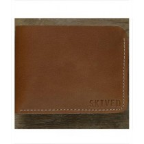 Snug Tanned Leather Wallet For Men Canary
