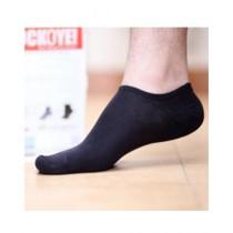 Sockoye No Show Socks For Unisex Jet Black