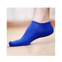 Sockoye No Show Socks For Unisex Royal Blue