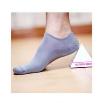 Sockoye No Show Socks For Unisex Shark Skin Grey