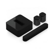 Sonos 5.1 Surround Set With Beam & Play 1 Speaker Black