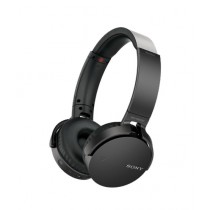 Sony Extra Bass Wireless Bluetooth On-Ear Headphones Black (MDR-XB650BT)