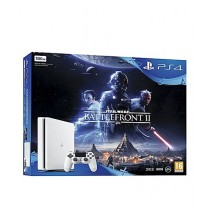 Sony PlayStation 4 500GB Star Wars Battlefront II Bundle - White