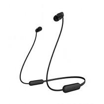Sony Wireless In-Ear Headphones Black (WI-C200)