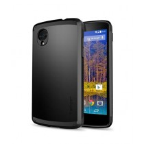 Spigen Slim Armor Case for Google Nexus 5 - Smooth Black