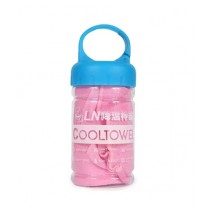 Sports Hub Cool Towel - Baby Pink