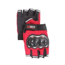 Sports Hub Pro Sports Gloves Red (006)