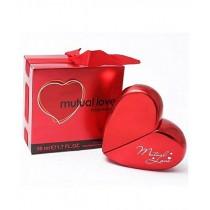 SS IT Solutions Heart Shape Eau De Perfume For Women 50ml