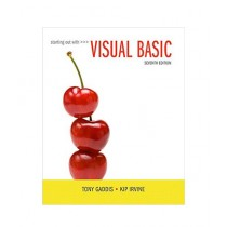 Starting Out With Visual Basic Book 7th Edition
