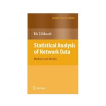 Statistical Analysis of Network Data Book 2009th Edition