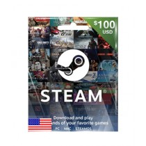 Steam Wallet Code Global Gift Card $100 - Email Delivery