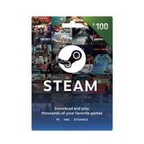 Steam Wallet Gift Card $100