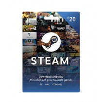 Steam Wallet Gift Card $20