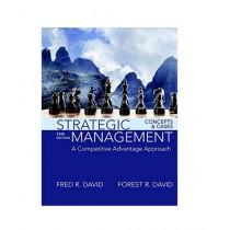 Strategic Management Book 16th Edition