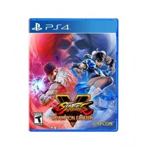 Street Fighter V Champion Edition Game For PS4