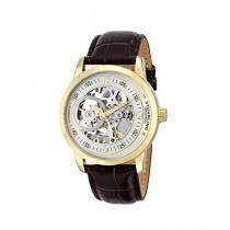 Stuhrling Original Delphi Saros Men's Watch Brown (837.03)