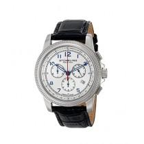 Stuhrling Original Targa Courant Men's Watch Black (717.01)