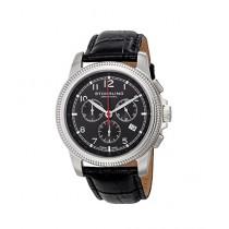 Stuhrling Original Targa Courant Men's Watch Black (717.02)