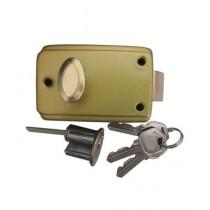 SubKuch Door Lock Golden (B 2, P 558)