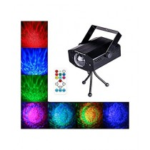SubKuch 7 Color LED Water Ripples Light (B94,Pdp65)