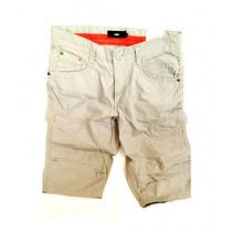 SubKuch Cotton Cargo Short For Men Grey (1570)