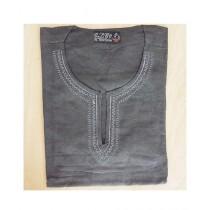 SubKuch Cotton Kurta For Men Gray (B 106, P 38)