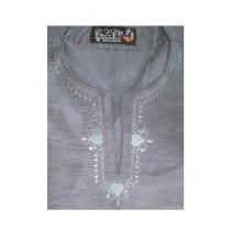 SubKuch Cotton Kurta For Men Gray (B 12, P 182)