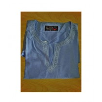 SubKuch Cotton Kurta For Men Grey (UP-0559)