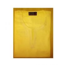 SubKuch Cotton Kurta For Men lemon (1260)