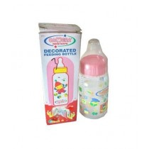 SubKuch Decorated Feeding Bottle Pink