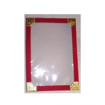 SubKuch Dress Packing Box Red