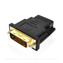 SubKuch DVI Male 24+1 To HDMI Female Adapter Connector (B 96, P 47)